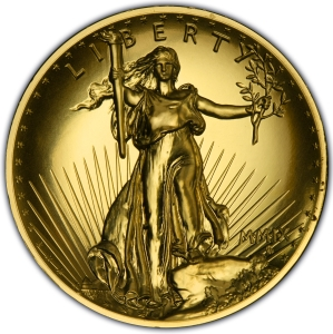 Ultra High Relief Double Eagles (2009)