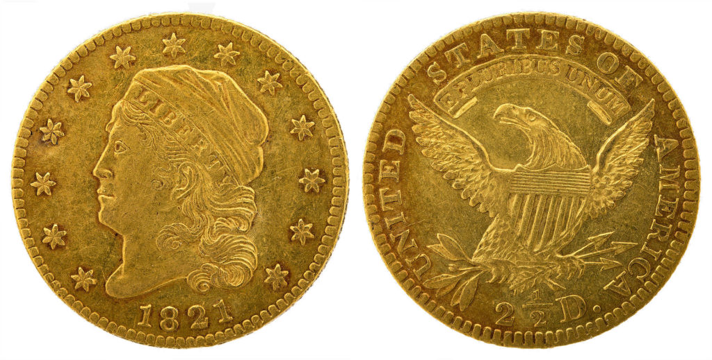 Capped Bust $2.5 (1808-1834)