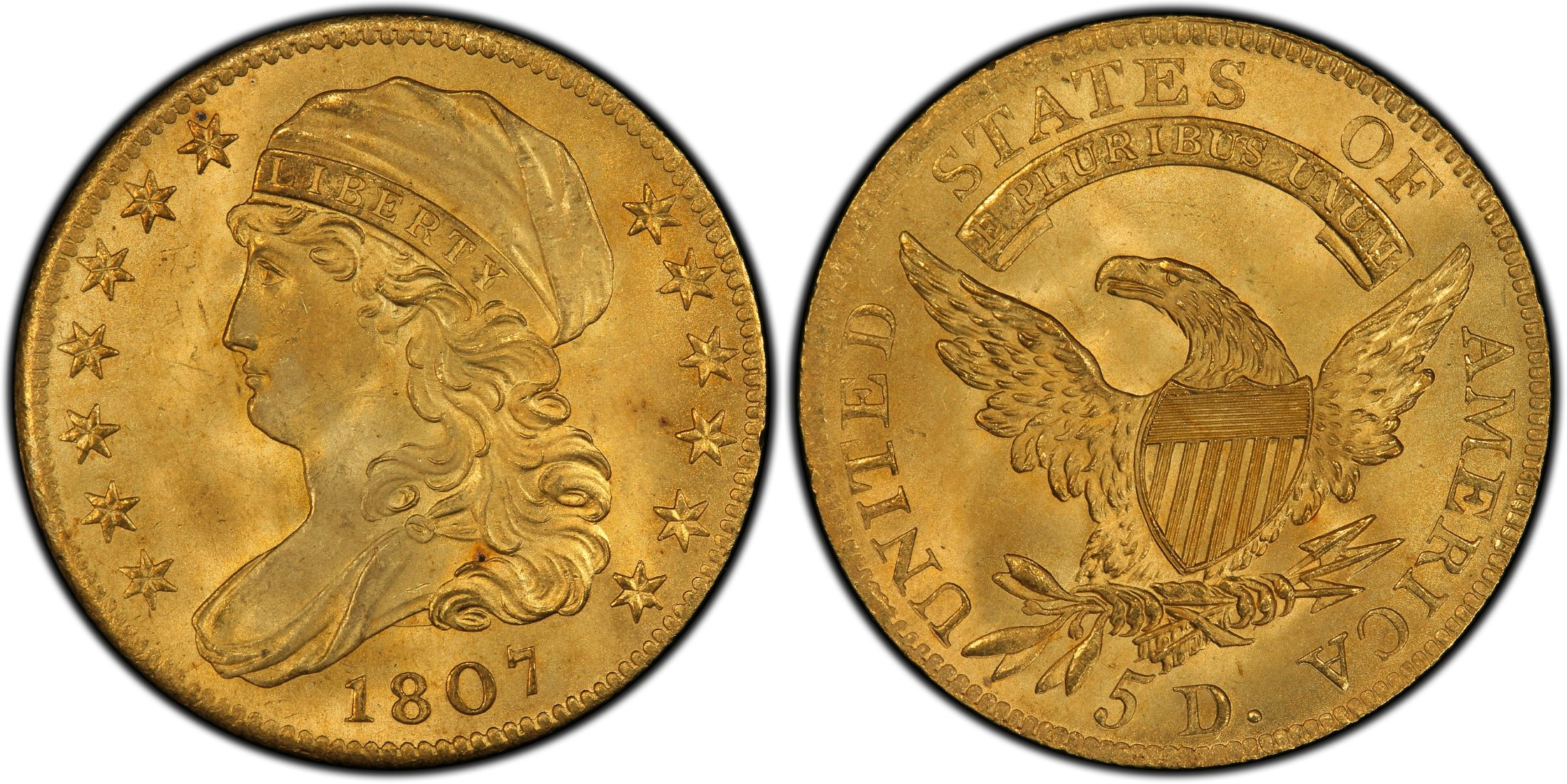 Capped Bust $5 (1807-1834)
