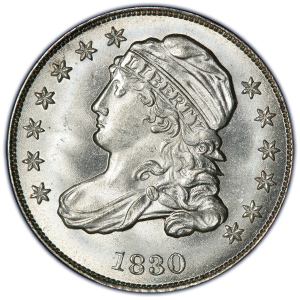 Capped Bust Dime (1809-1837)