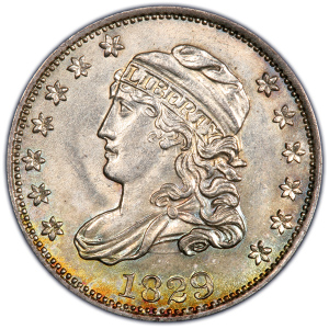 Capped Bust Half Dime (1829-1837)