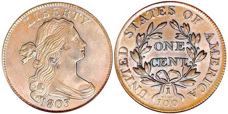 Draped Bust Cent (1796-1807)