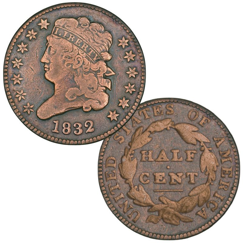 Half-Cents and Cents