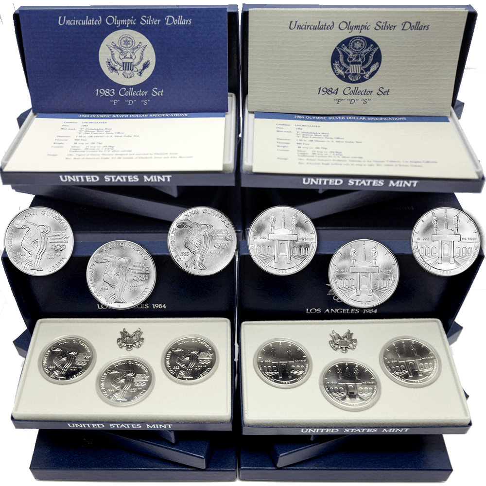 Modern Commemorative Sets (1983 to Date)