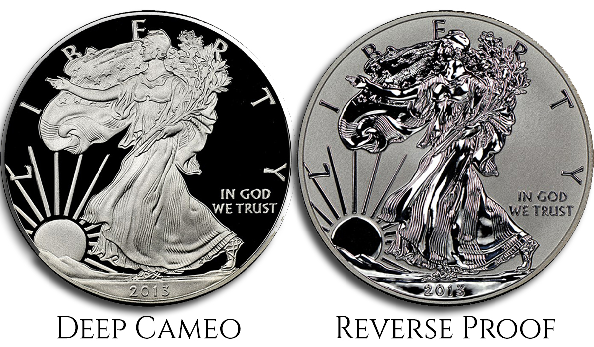 Silver Type Coins - Proofs