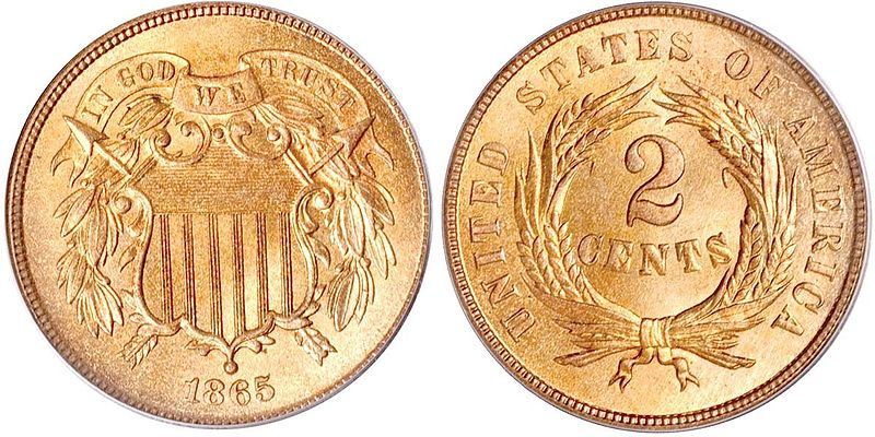 Two Cent (1864-1873)